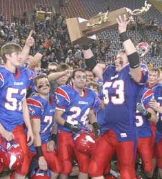 For just the fifth time in school history, the Decorah football team won a state title this fall, the first for Head Coach Bill Post.