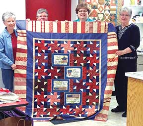 Quilts of Valor Open Sew Days