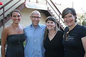 From left: Lea Lovelace, Eric Petersen, Jenni Brant and Kristen Underwood. (Photo by Julie Berg-