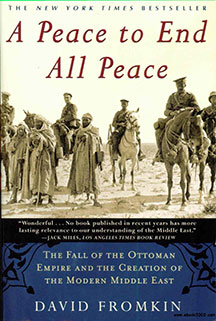 Discuss 'A Peace to End All Peace' Oct. 30, at public library