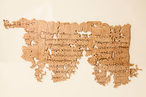 Luther College opens papyri exhibit Oct. 11
