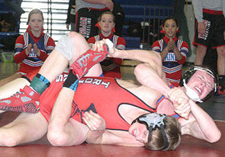 Good day on the mats; Warriors second, Decorah third at Duals