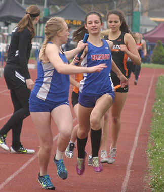 Greatness ahead; Decorah girls send 18 events to state