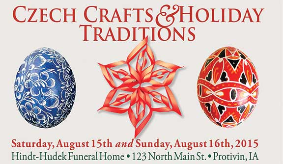 'Czech Crafts and Holiday Traditions' part of Czech Days celebration August 15, 16