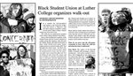 Black Student Union at Luther College organizes walk-out