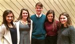 Five DHS Dorian vocalists selected for grand concert