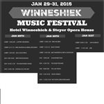Second annual Winneshiek Music  Festival Friday-Sunday, Jan. 29-31