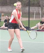 Krieg still undefeated in singles while Kruse perfect in '16