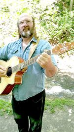 Mark Armstrong performs at Lawn Chair Night June 9
