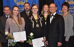 Four NICC students honored at recognition banquet