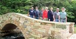 New stone arch bridge completed at Dunning's Spring