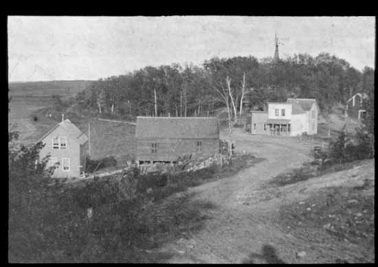 Steve and Barb Johnson shared this vintage photo of the village of Sattre, along with the following bit of history: In 1892 Halvor J. Forde built the Sattre Store on land purchased from Ole Magnuson Saetre for whom the village Sattre is named. Halvor's son, Erik H. Forde and his wife Stena (Thorson) Forde lived in the building and operated the store until 1900. When Erik's health failed, he sold the store to Julius Hanson. The store then had a succession of owners: Lewis Hendrickson, partners Nils Aschim and Julius Hanson, Jerry Bentley, Nils Aschim, Edward Lund, Robert Seegmiller, Edward Lund, Ivar Heier, Dwayne Rude and Richard Dotzenrod. The little crossroad store, located in Pleasant Township, was the center of the village of Sattre. A bench existed behind the store that served as a dance platform for the numerous holiday picnics. It also served as a post office from 1895 to about 1918 or 1919. Erick Forde was the first Postmaster of the store. Shoppers at the store could buy yard-goods, oil (which came in 50-gallon barrels), and flour and sugar, which also came in 50-gallon barrels but was sold by the pound. There existed a blacksmith shop across the road built by Peter Ellingson who sold it to Henry Fortune, the builder of the house presently standing at Sattre. The next owner was Nels Nelson who added a second story to the frame building that was used as a dance hall.