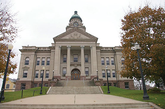 Winneshiek Cou ty courthouse. (Submitted photo)