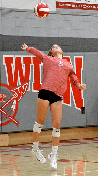 SW spikers lose a close one to Central